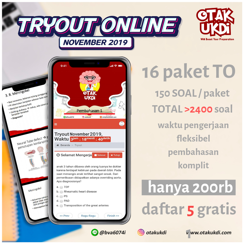 TRYOUT ONLINE UKMPPD PERIODE NOVEMBER 2019